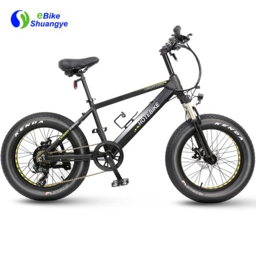 20 inch fat tire electric bicycle A6AH20F