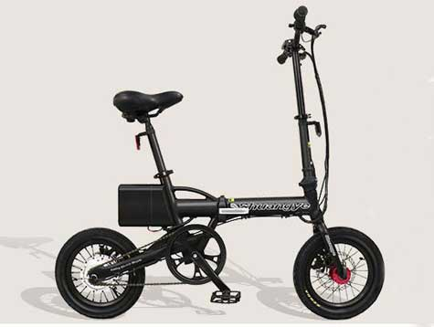Foldable e bike in 14 inch for girl