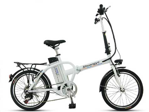 36V 250W city folding electric bicycle
