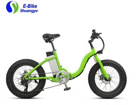 Women's fat tire best folding electric bike
