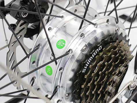 Advantages of hub electric motor for bike