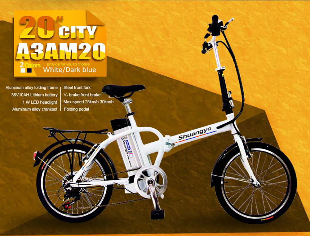 folding electric bicycle (3)