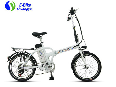 Portable city folding electric bicycle