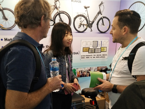 125th Canton Fair - Shuangye electric bike welcome you