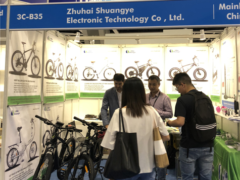 Shuangye electric bike in 2019 Hong Kong Electronics Fair