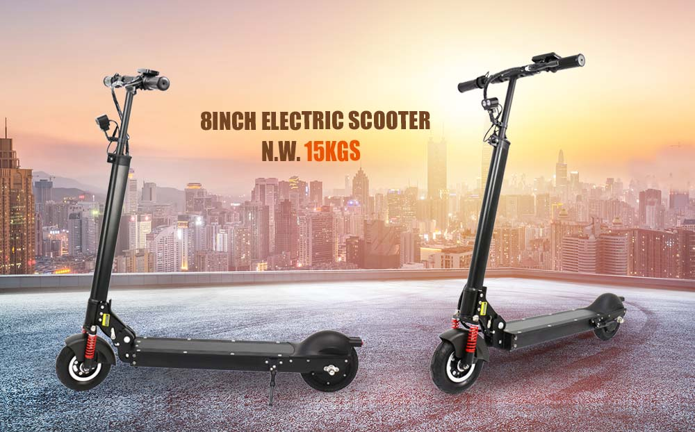 Electric avenue scooters 8 inch fashion styling