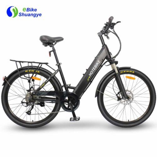 Elektriskais velosipēds ar hidraulisko disku bremzi A5AH26