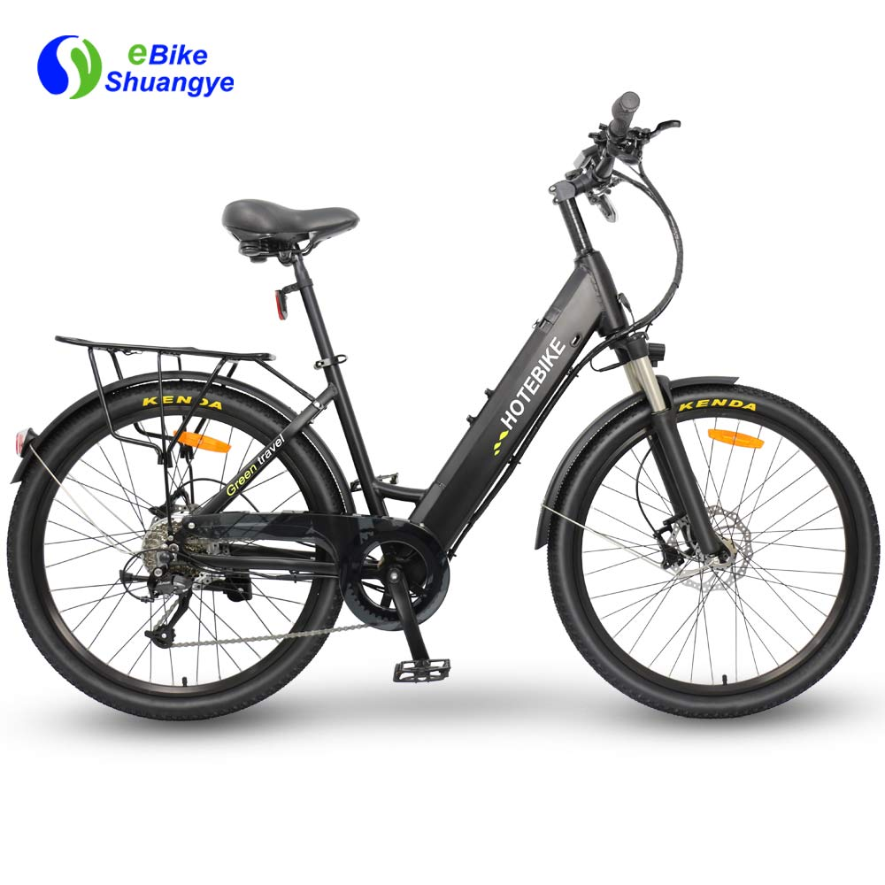 Electric bicycle with hydraulic disc brake A5AH26