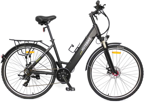 Electric bike china with 350W mid- drive motor