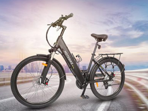 26-inch electric commuter bike with hydraulic brake