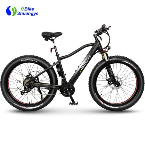 High power fat tire electric cruiser bicycle A6AH26F