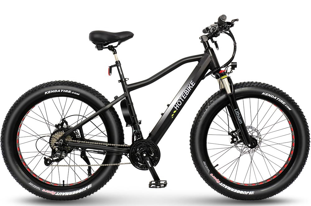 The third generation frame fat mountain ebike A6AH26F