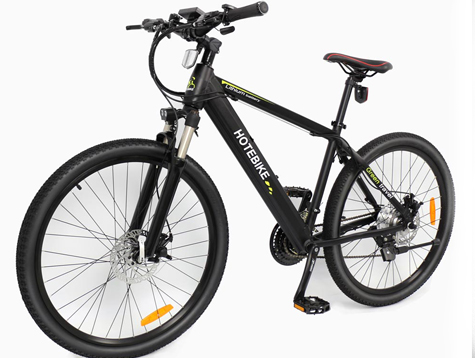 Fast electric bike removable hidden battery