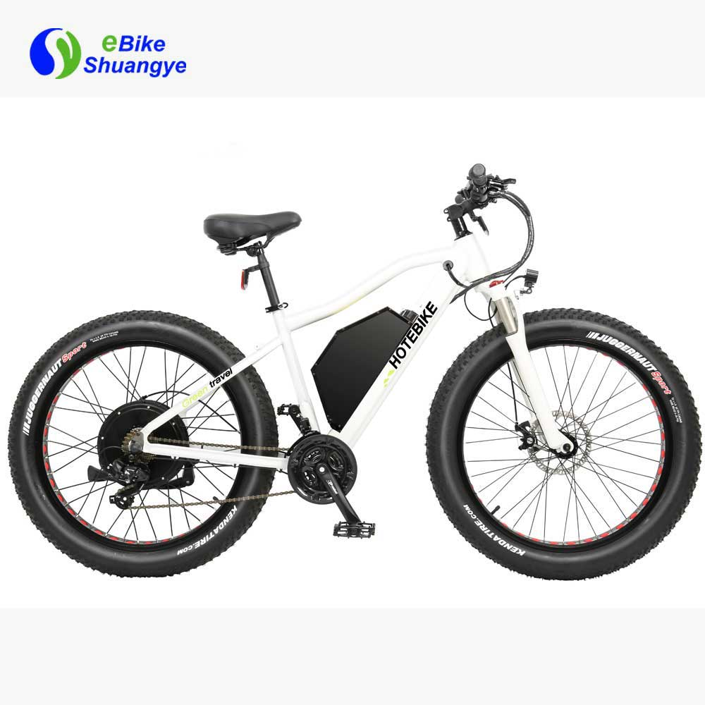 60V 2000W fat tire electric bike max speed 55km/h A7AT26