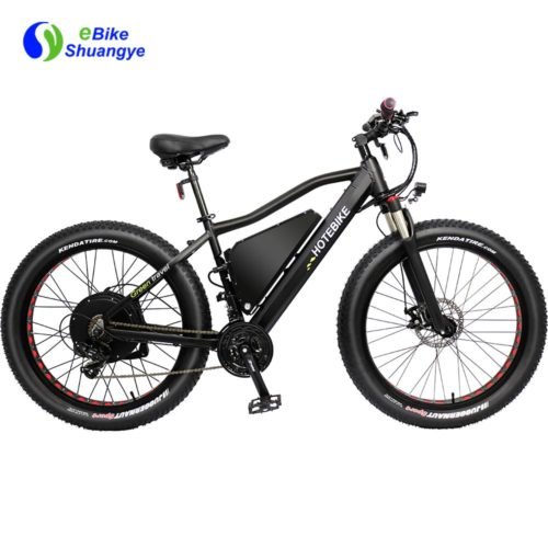 60V 2000W fat tire electric bike max speed 60km/h A7AT26