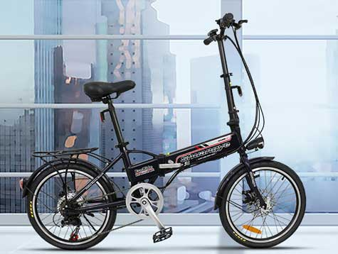 Folding electric bike fast delivery to Europe
