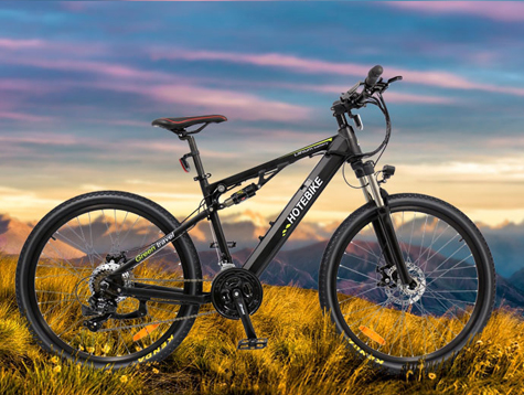 The best 26 inch full suspension electric mountain bike