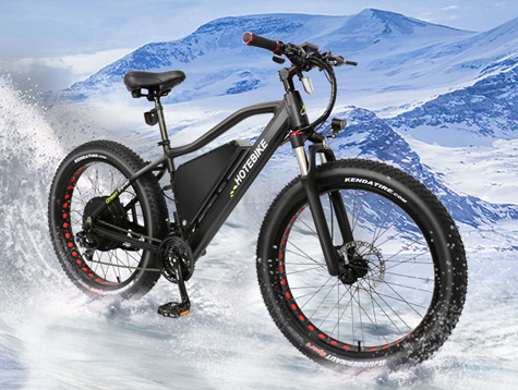 Powerful electric pedal bike - new bike frame