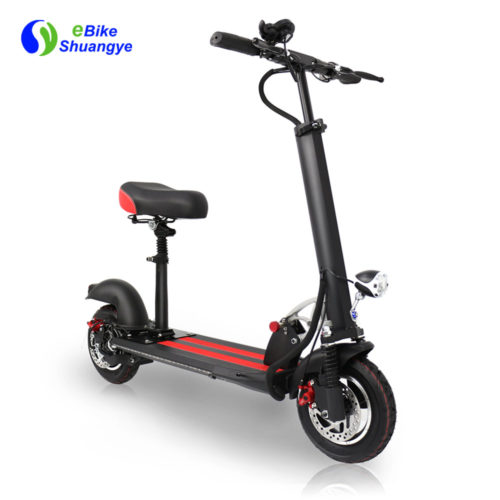 10 inch electric scooter with saddle for adult A1-8