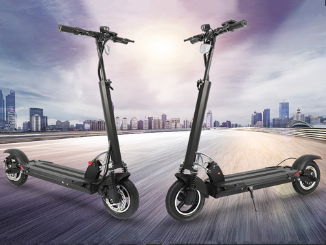 What environment can electric scooters be used in?