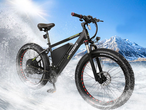 Fat tire electric bike high power and go farther