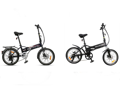 What differences two types of foldable electric bike