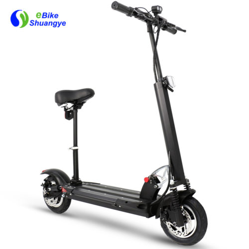 10 inch foldable electric scooter with seat A1-8