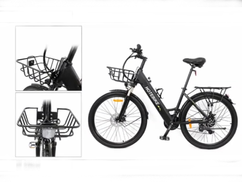 How to install a bike front basket on ebike