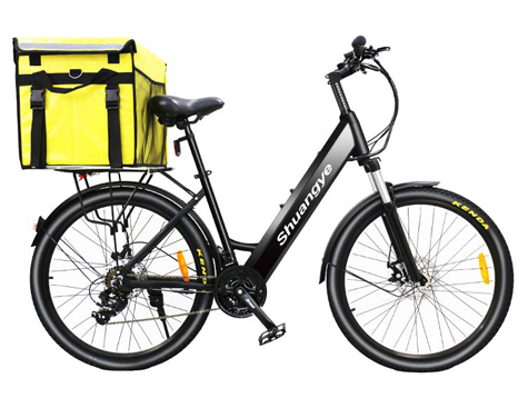 Delivery food electric pedal assist bike
