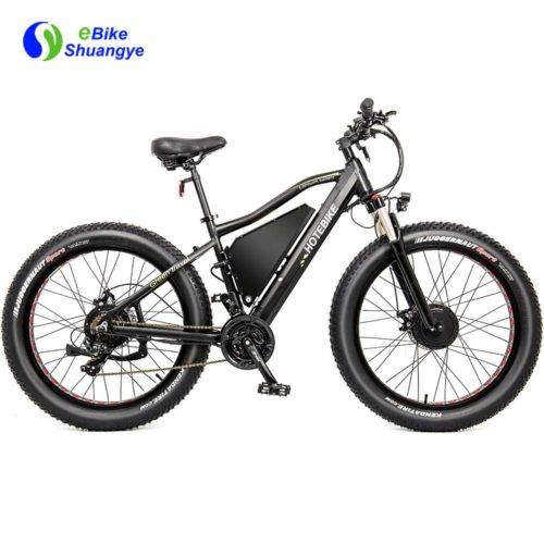 Fat electric pedal bike dual motor 48V A7AT26