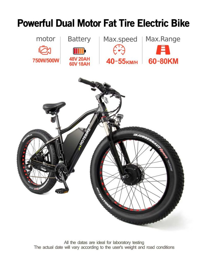 fat tire snow ebike