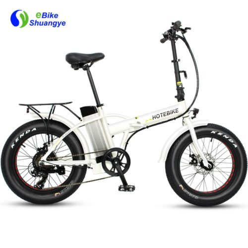 Folding electric bike for sale 20 inch fat tire A7AM20