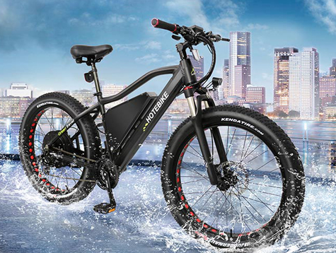 A 1000 watt electric bike with new design frame