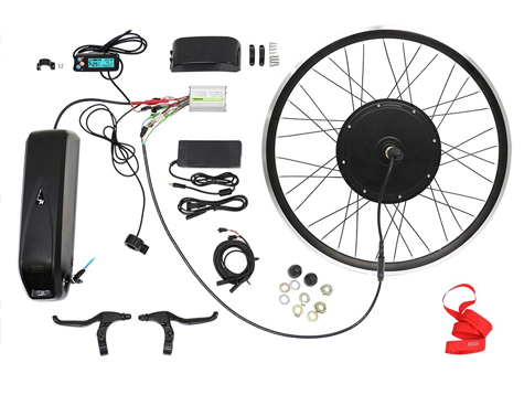 Here are a set of 1000W electric assist bike kit