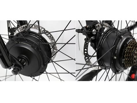 Front electric bike hub motor VS Rear electric bike hub motor