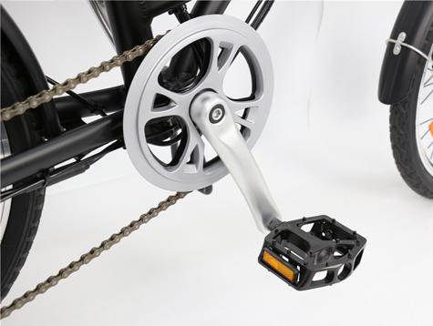 How does electric hybrid bikeworks?