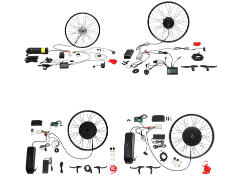Four hot sale electric bike conversion kits