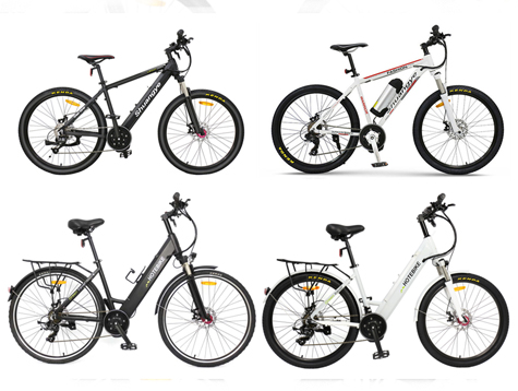 3 different types of mid-drive electric bike sale