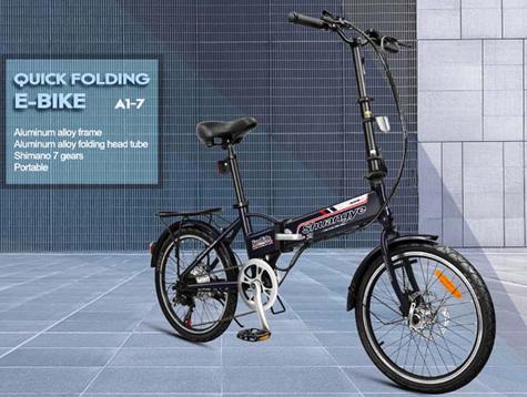 Biking commuter ebike and environment