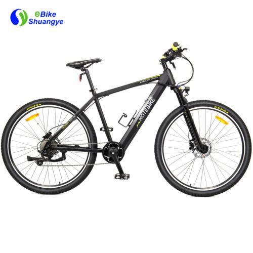 Mid drive motor electric assist bike