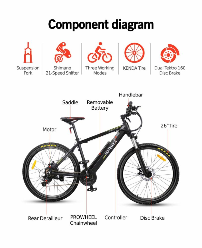 high power hybrid electric bike