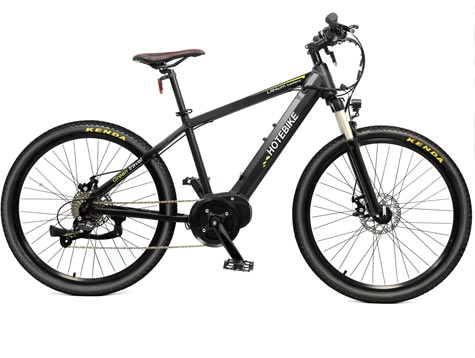 Another new pedal assist electric mid drive bike
