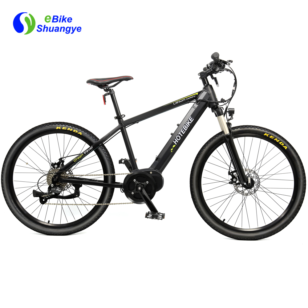 New hybrid electronic mid drive bike A6AH26MD