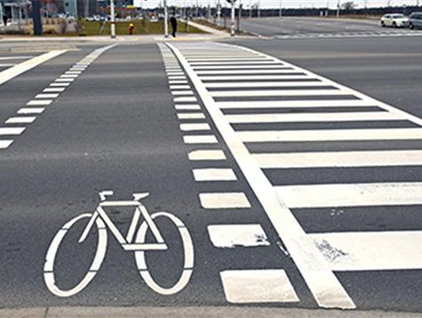 Street safe riding pedal assist bike