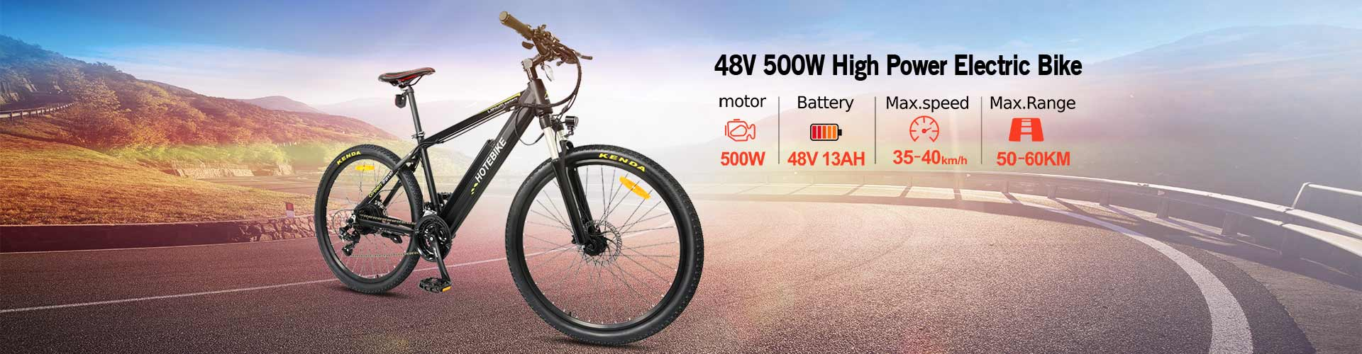 electric bike 48v 500w