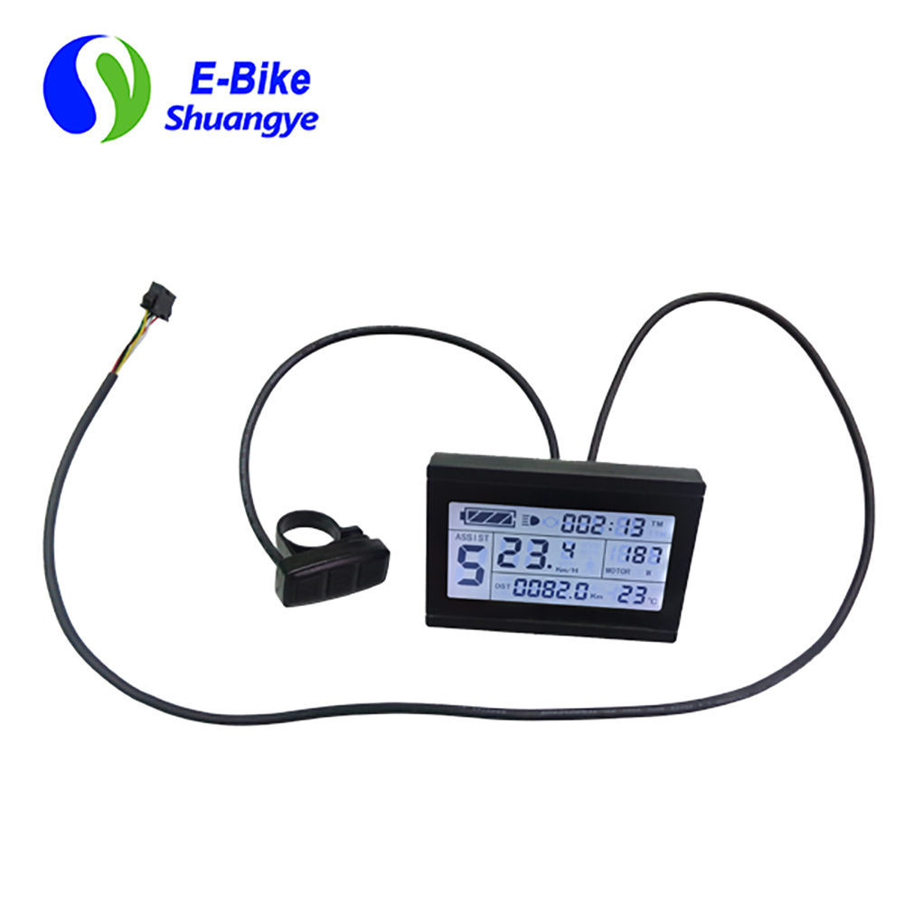 Big screen waterproof LCD display for mountain ebike LCD3