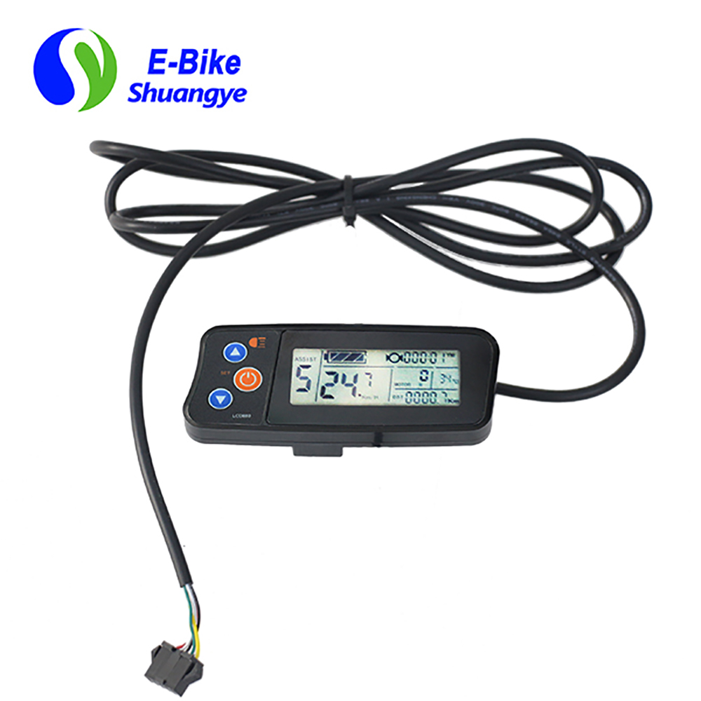 City electric bicycle waterproof LCD display LCD880