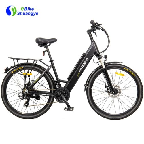 26/28inch city woman electirc bike 48v 500w 750w A5AH26