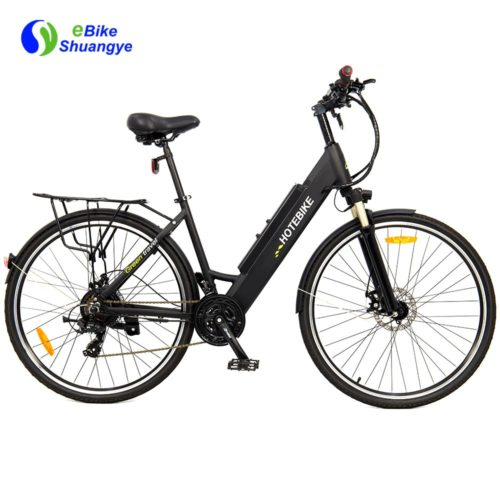 26/28inch city woman electirc bike 48v 500w 750w A5AH28