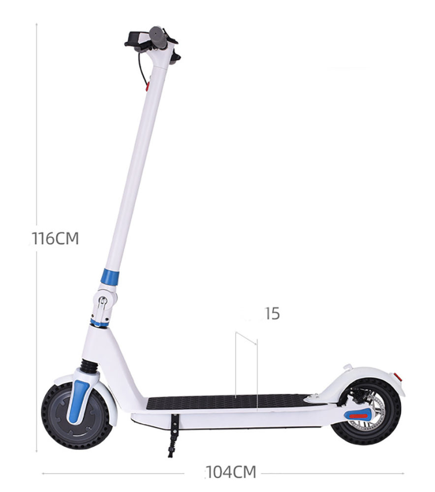 folding electric scooter